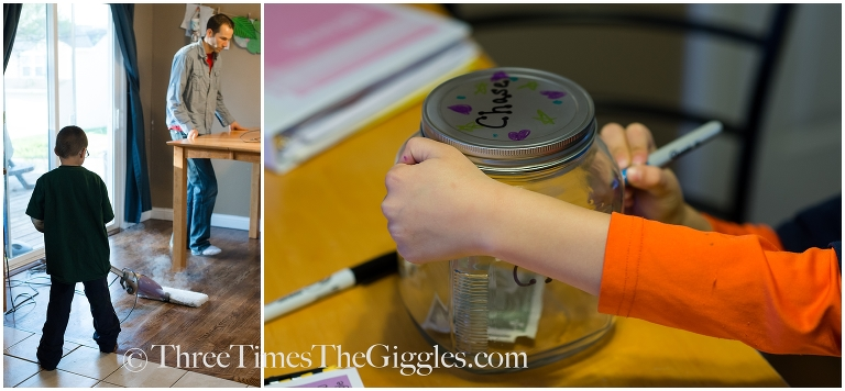 Chores for kids|Three Times the Giggles_0001